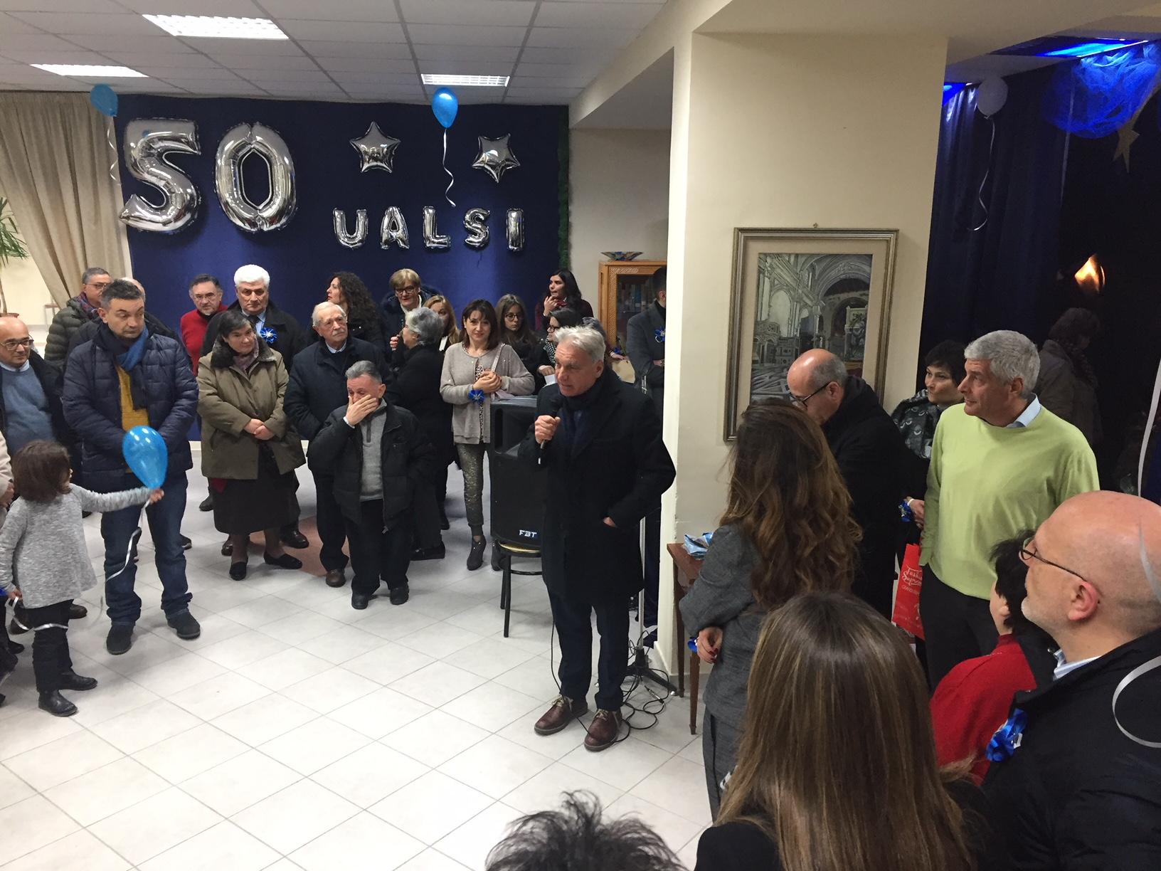 Fondazione UALSI, cinquant'anni di vita, un nuovo presidente e una festa per celebrarli